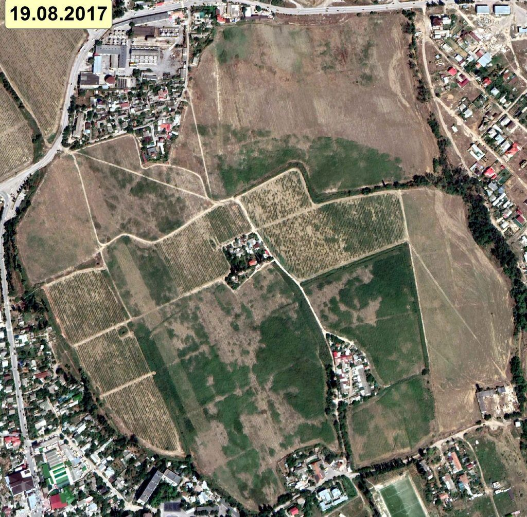 Как Россия уничтожает виноградники в Крыму: шокирующие снимки со спутника