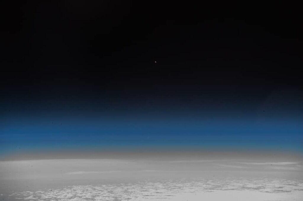 """Авария """"Союз МС-10"""": как это выглядело из космоса, фото"""