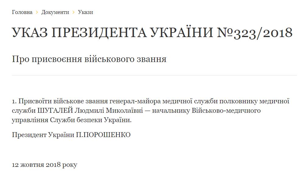 Людмила Шугалей - перша українська жінка-генерал: хто вона, фото