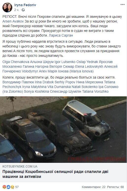 Дарина Александрова: хто вона і чому їй спалили машину