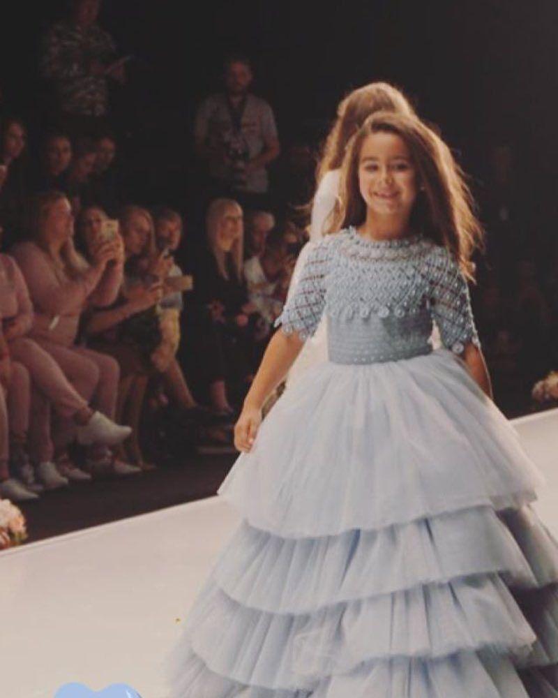"""""""Принцесса София"""": Ани Лорак показала свою дочь на подиуме, фото"""