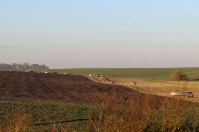 Крушение Су-27: новые фото и видео с места, имена погибших