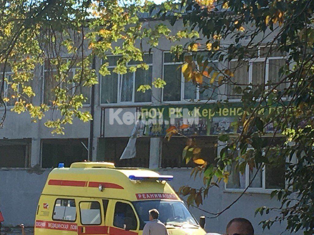 В Крыму прогремел мощный взрыв в техникуме: что известно, фото и видео с места