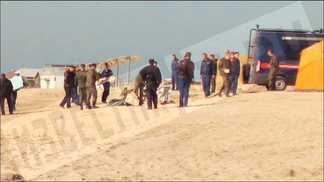 Крушение Л-39 в Азовском море: фото обломков самолета и новости о пилотах