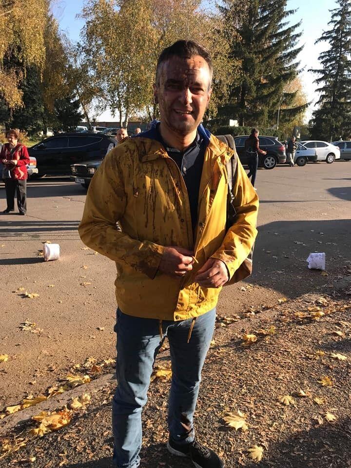Дмитрий Гнап: за что журналиста облили фекалиями