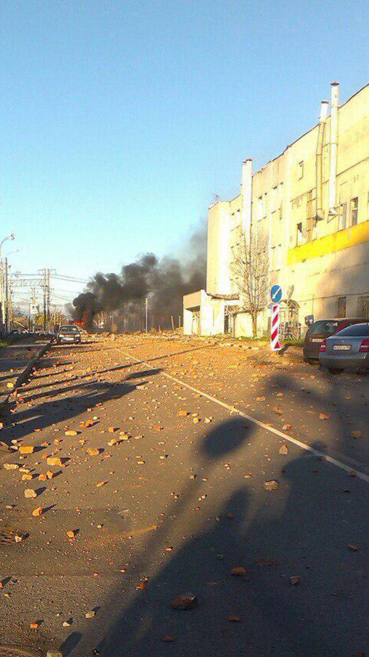 """Вибух на """"Авангарді"""" в Росії: дані про жертви, фото і відео з заводу"""