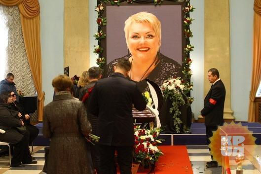 У Києві попрощалися з Мариною Поплавською: дивитися фото