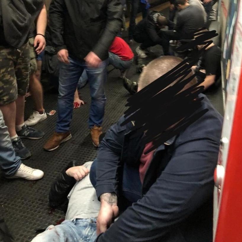 Десятки пьяниц: в Италии показали фото причин аварии в метро