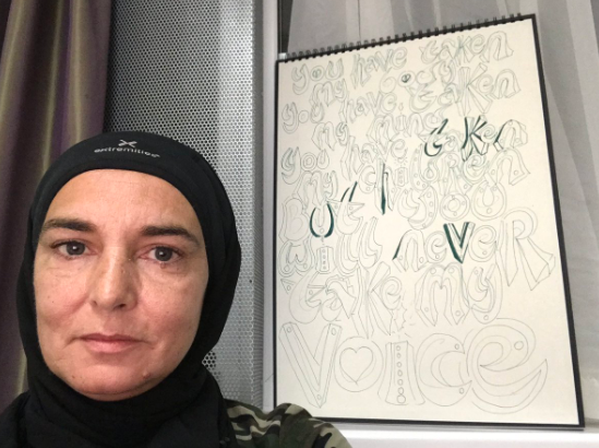 Шинейд О'Коннор приняла ислам. Как она теперь выглядит. Фото, видео