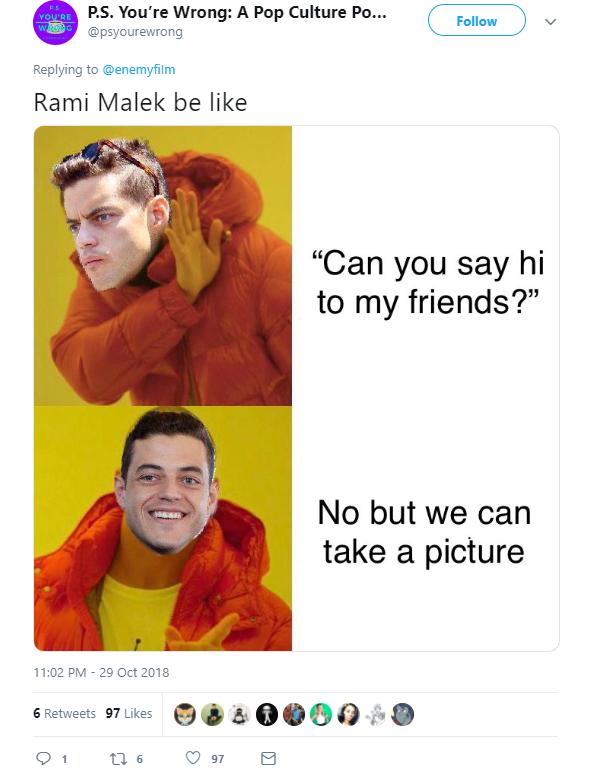 Рамі Малек потрапив у меми. Як це сталося