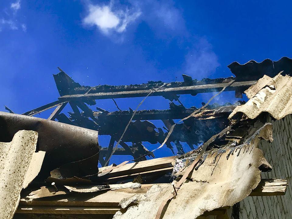 Спалено будинки, вбито тварин: в мережі показали страшні фото наслідків обстрілу Водяного