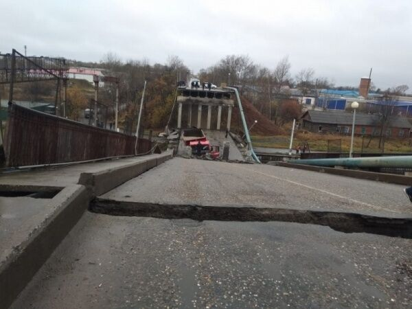 """Керченский мост ждет такая же участь? В России рухнул """"мегамост"""", фото, видео"""