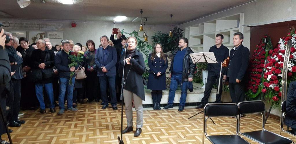 Похороны Давида Черкасского: кто пришел на прощание. Фото. Видео
