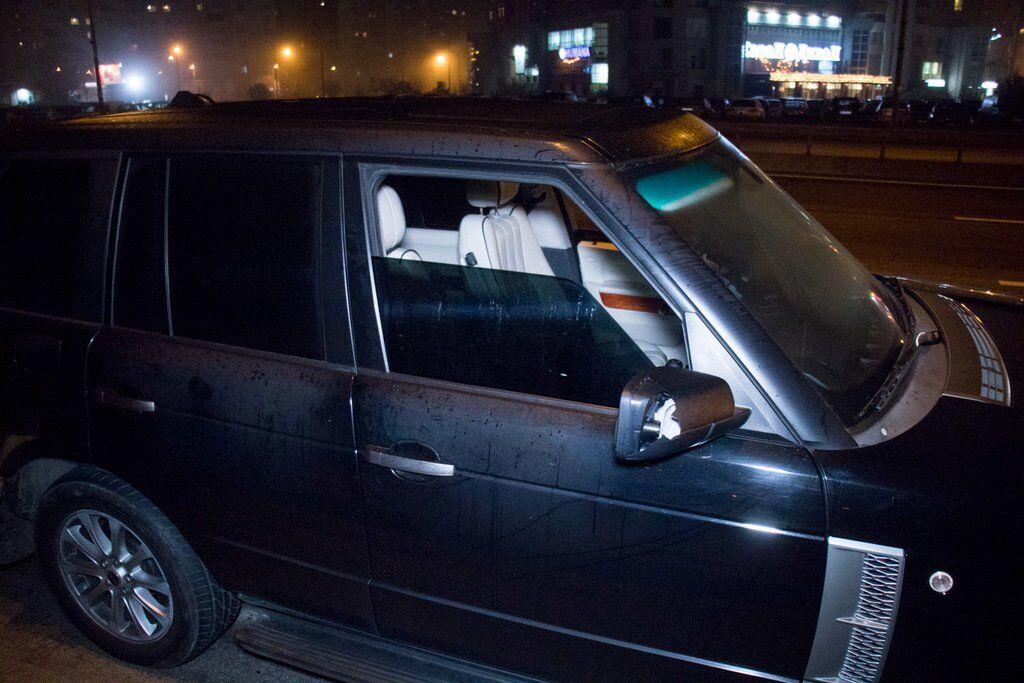 Задержанный Range Rover