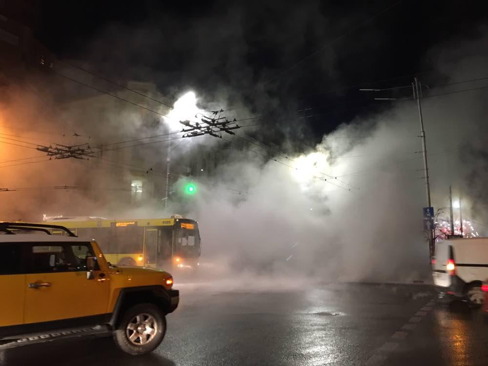 Авария на Шота Руставели в Киеве: что случилось и когда вернут отопление