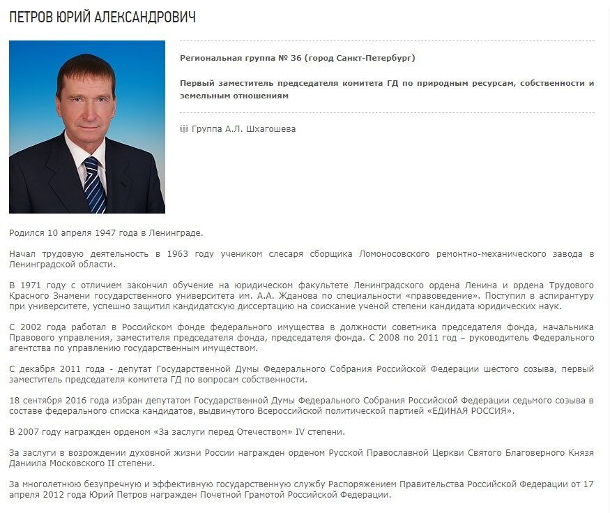 Юрій Петров намагався засунути палець у вухо колезі-депутату? Хто він і що це за інцидент