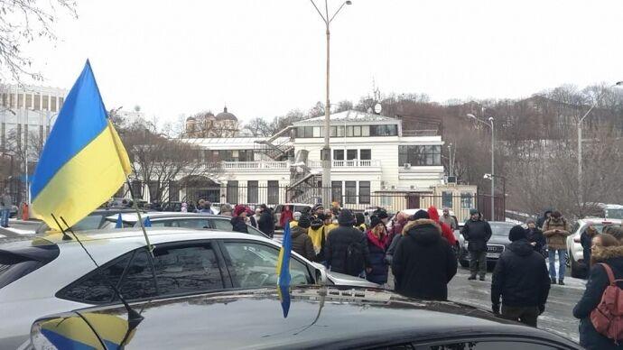 """""""Авакове, йди!"""": що це за акція під будинком глави МВС України. З'явилися фото і відео"""