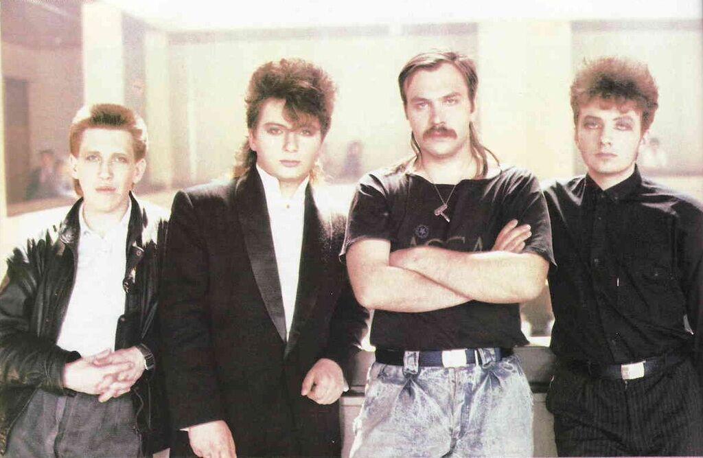 """Агата Кристи"" в 1987 году"