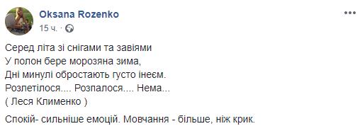 """Як Оксана Розенко переживає роман міністра і Олени-Христини Лебідь. """"Дуже боляче"""""""