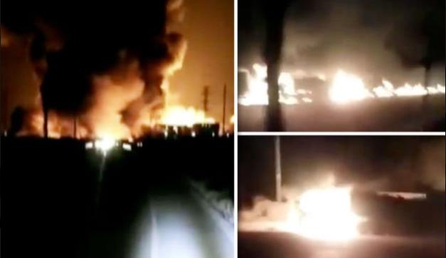 Погибли минимум 22 человека: фото и видео мощного взрыва на химзаводе в Китае