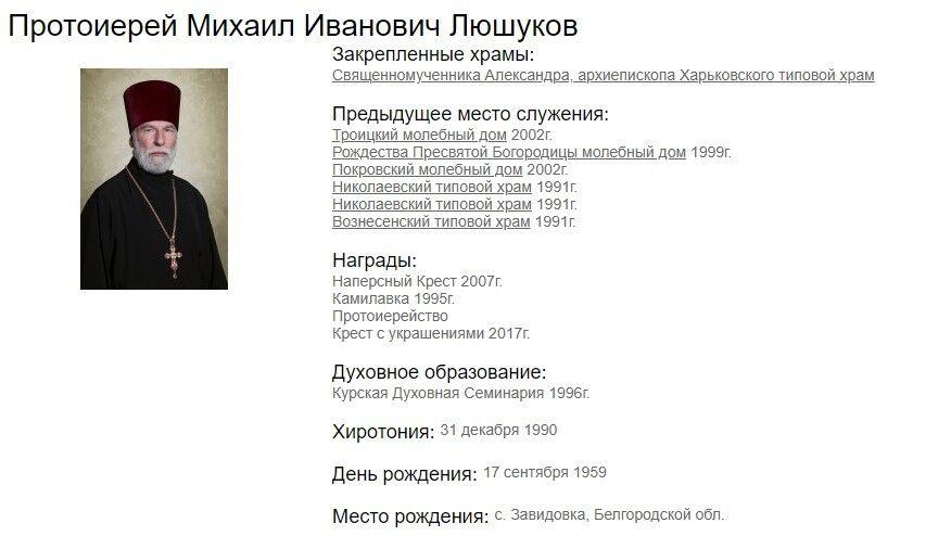 Священник Михаил Люшуков разнес могилы в Харькове. Что о нем известно. Фото. Видео