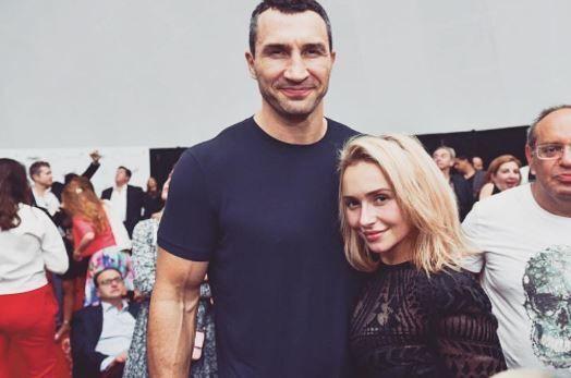 Хайден Панеттьери и Владимир Кличко