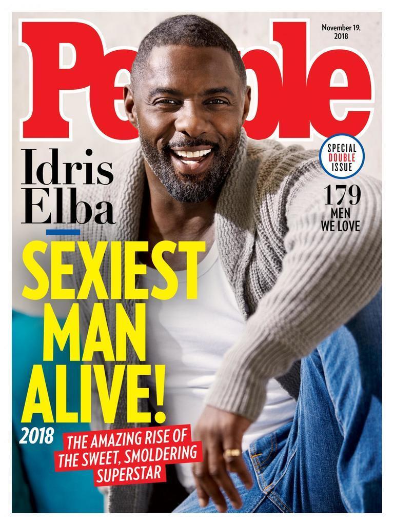 Ідріс Ельба став найсексуальнішим чоловіком 2018 року. Хто він? Фото