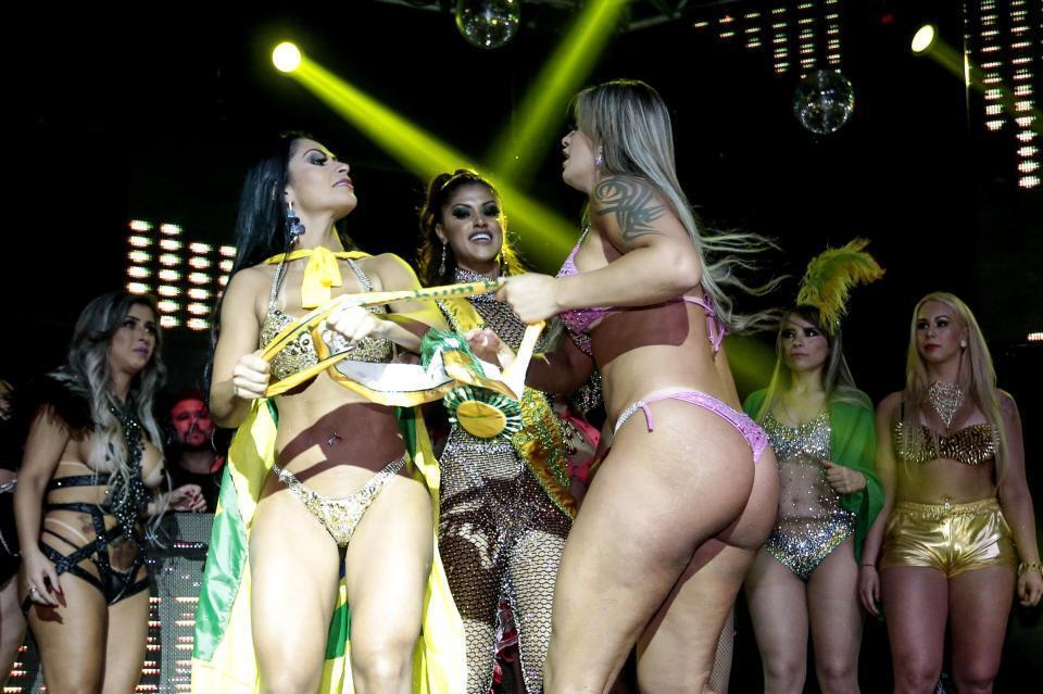 Miss BumBum-2018 в Бразилии: почему обладательницы самых красивых ягодиц устроили драку. Фото, видео