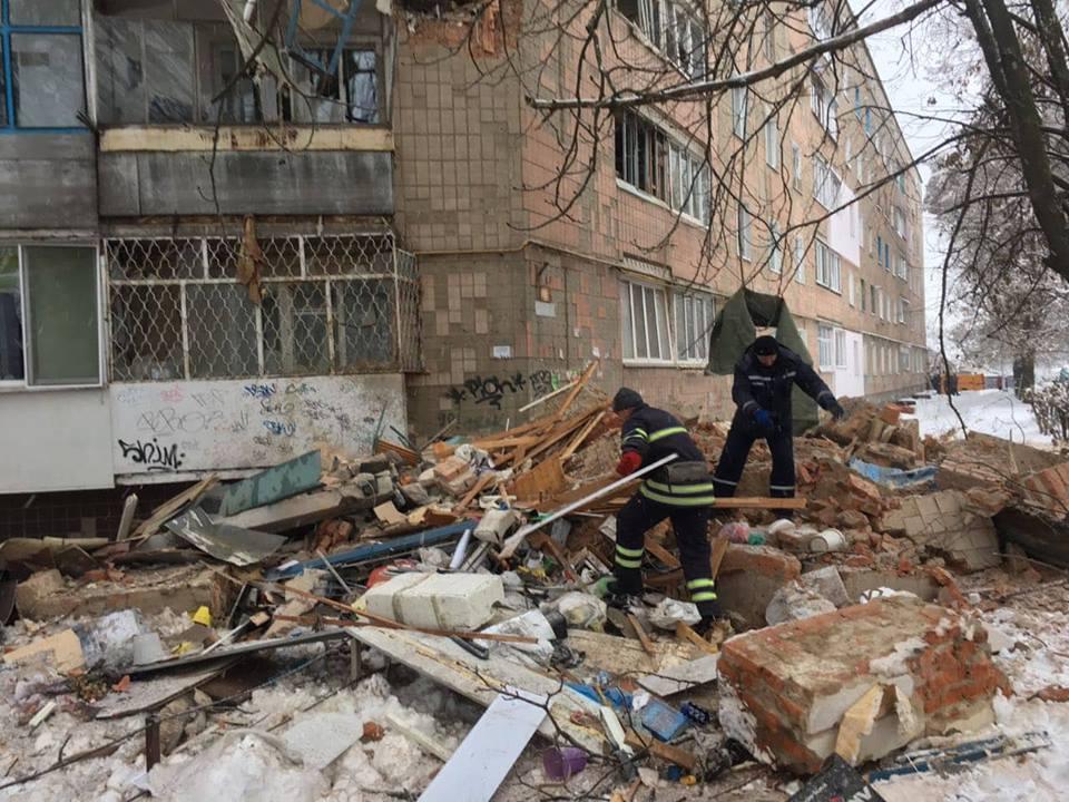 У Фастові трапився вибух: фото руйнувань будинку на вулиці Садовій, 10