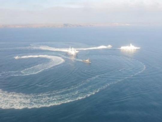 """""""Что за хрень?!"""" В столкновении кораблей Украины и России нашли странный нюанс"""