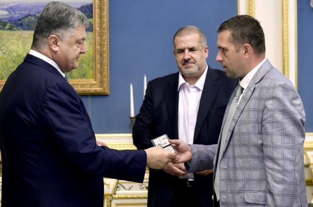 Петро Порошенко та Борис Бабин