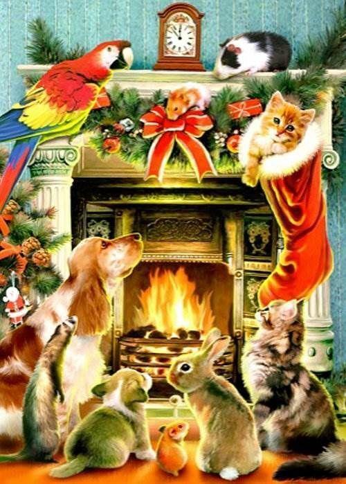 Новогодние открытки СССР: как поздравляли в те времена