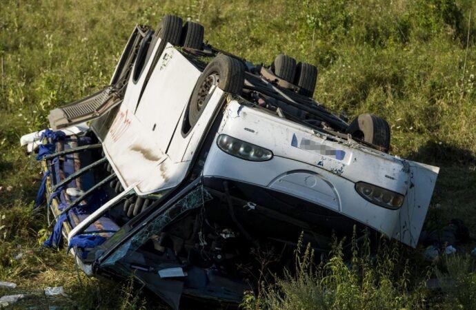 Украинцы попали в ДТП в Европе, много пострадавших: фото с места аварии