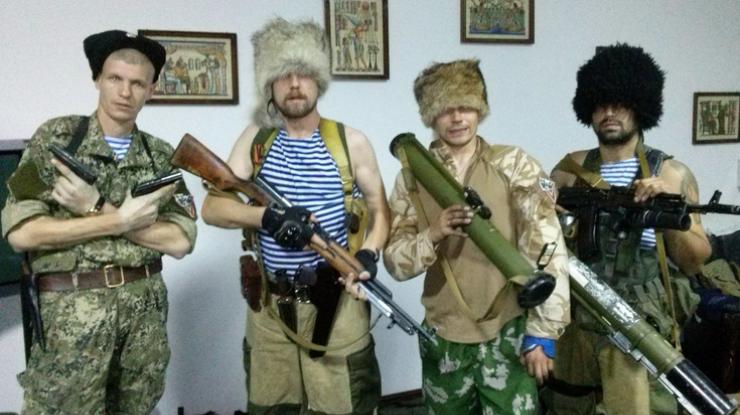 """""""Казаки"""" в оккупированной Луганской области"""