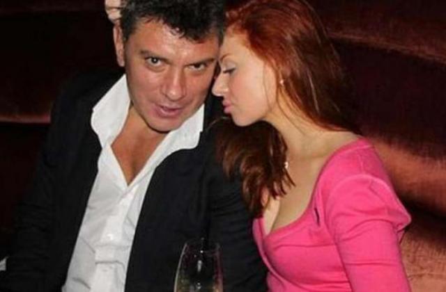 Анна Дурицкая и Борис Немцов