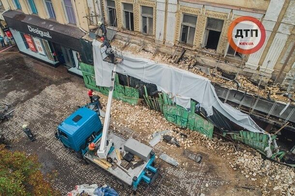 """""""Труп"""" знаменитого здания в центре Киева шокировал сеть: фото"""