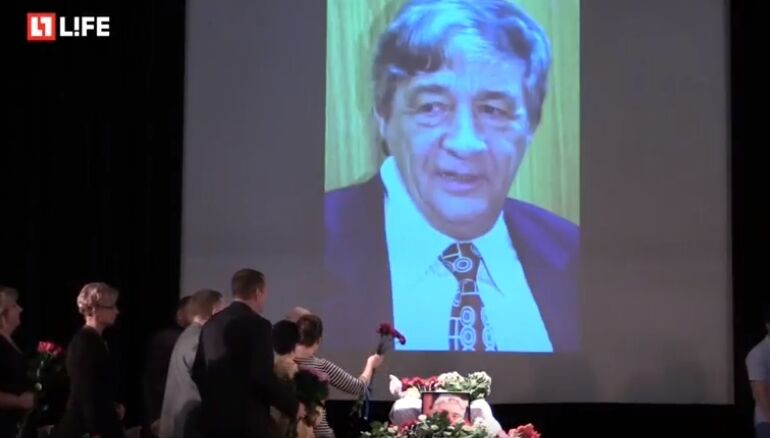 В Росії прощаються з Едуардом Успенським: фото, відео