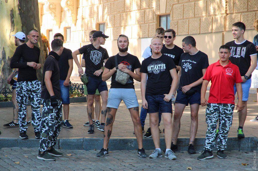 На марше ЛГБТ в Одессе не обошлось без провокаций: опубликованы фото и видео
