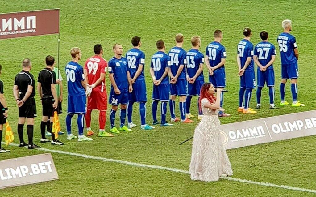 Український футболіст яскраво показав ставлення до росіян і розлютив їх: фото