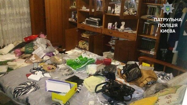 В Киеве поймали на горячем наглых домушников: фото воров