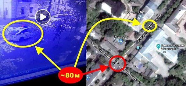 Включили спецсигналы слишком поздно: очевидцы жуткого ДТП в Сумах с копами раскрыли детали происшествия, видео