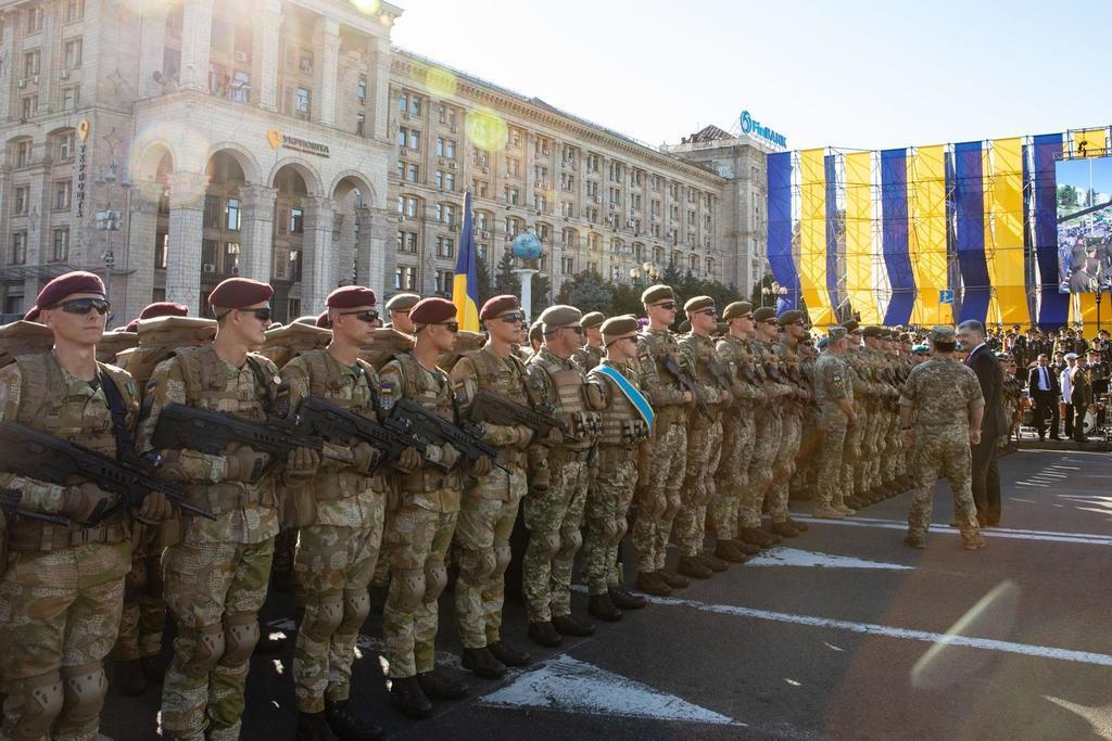 Гордость Украины: сеть впечатлили яркие фото и видео репетиции парада в Киеве