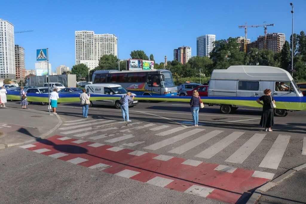 У Києві встановили дивовижний рекорд до Дня прапора України: яскраві фото та відео