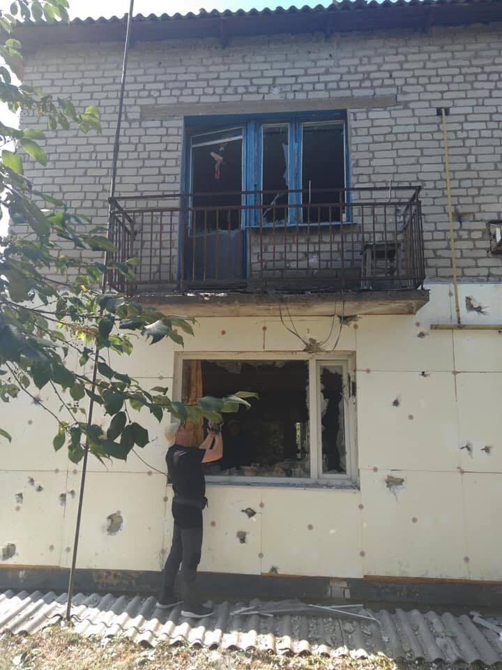 Смертельний обстріл бойовиків на Донбасі: опубліковано фото наслідків