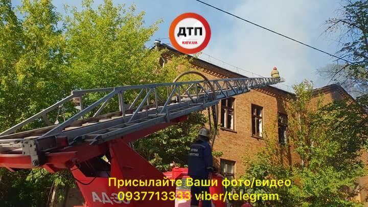 Скоро будет новая высотка: появились фото и видео мощного пожара в Киеве