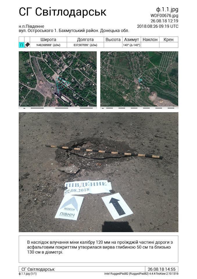 Боевики ДНР цинично обстреляли освобожденный поселок на Донбассе: фото последствий