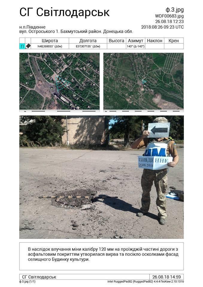 Бойовики ДНР цинічно обстріляли звільнене селище на Донбасі: фото наслідків