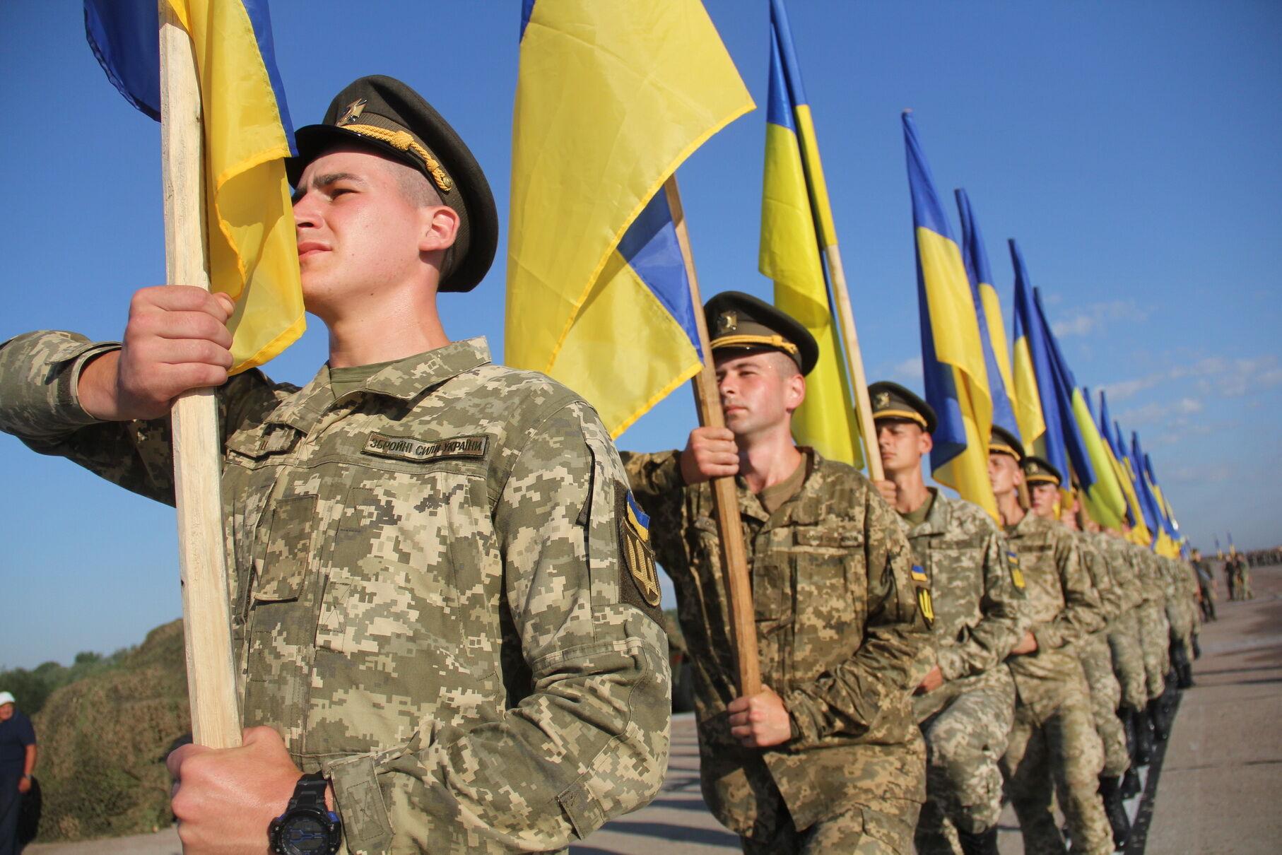 Украинские военные готовятся к параду ко Дню Независимости: появились яркие фото и важная новость