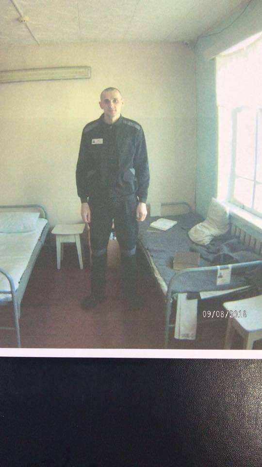 Появились свежие фото Сенцова из российской тюрьмы