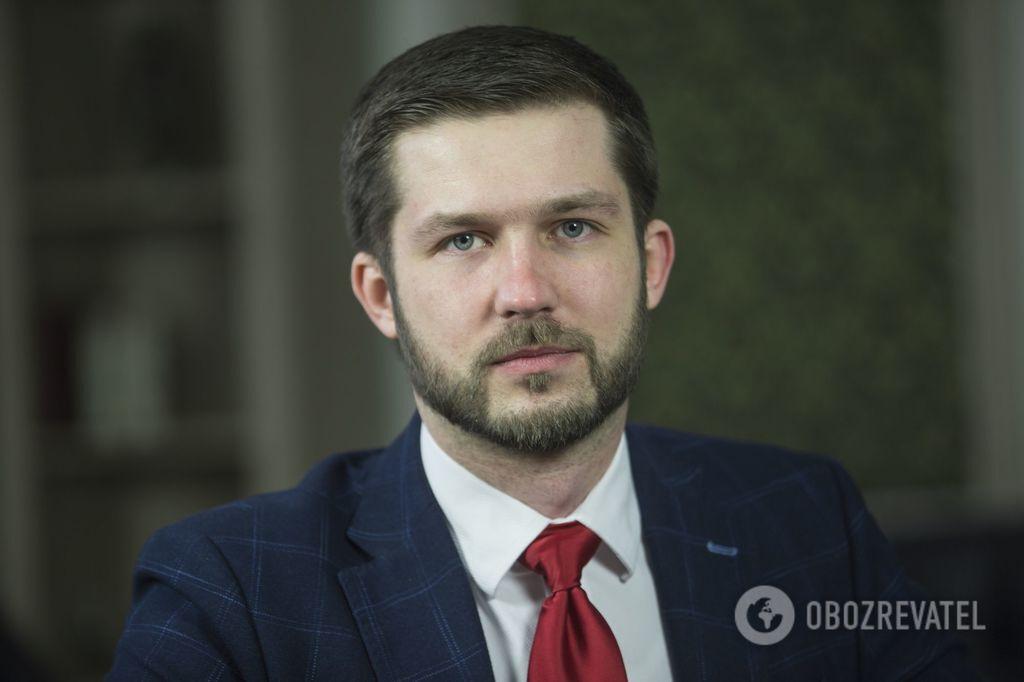 """Координатор проекту """"СтопТерор"""" Семен Кабакаєв"""
